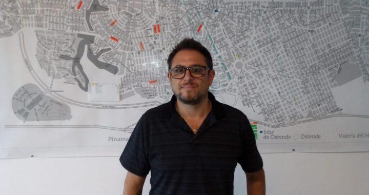 Sebastian Berardone director de seguridad, robos y detenciones en plena cuarentena en Pinamar