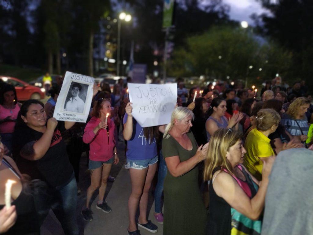 Vecinos de Pinamar piden justicia por Fernando Baez Sosa
