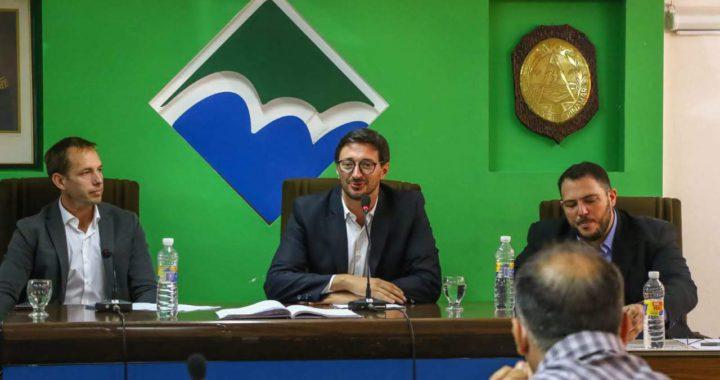 En plena cuarentena el intendente Martín Yeza se alineó con Alberto Fernandez?