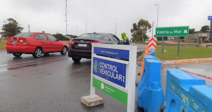 Finalmente la policía de Pinamar seguirá controlando los accesos a la ciudad