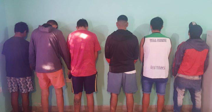 Un grupo de santiagueños que se fueron de Pinamar llegaron,armaron una fiesta y fueron detenidos