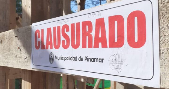 El municipio clausuró varias obras por no cumplir con las medidas sanitarias