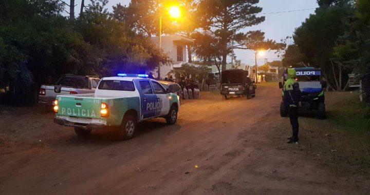 Allanamientos por varios robos en distintas zonas de Pinamar, un detenido
