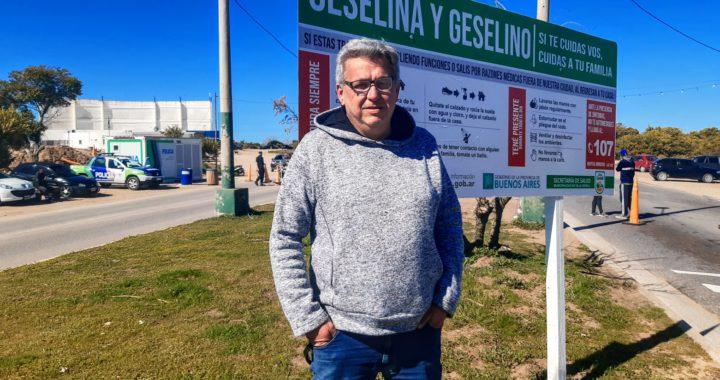 """Nahuel D'Aquila en Gesell """"El aumento de casos en Pinamar pone en riesgo el verano en la región"""""""