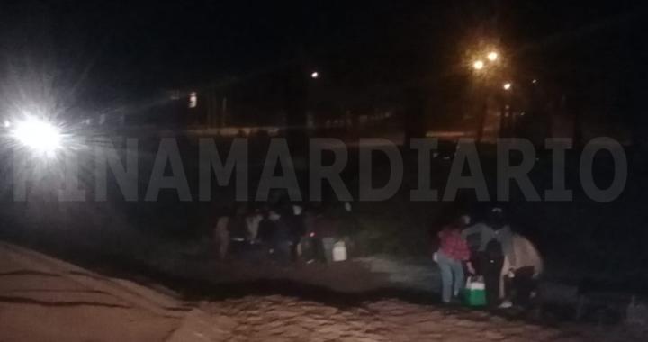 Asi desactivo la policía una fiesta clandestina este fin de semana en el norte de Pinamar