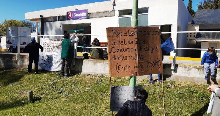 """Jose Rodríguez enfermero """"Así no estamos en condiciones de atender a la gente que venga en verano"""""""