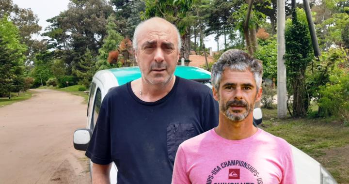 Incidentes entre Daniel Sarubi Pte de Taxis de Pinamar y el secretario de gobierno Alberto Lamarque