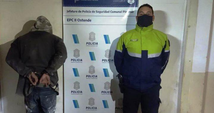 La policía detuvo a un delincuente de Ostende que le robo 80 mil pesos a una abuela
