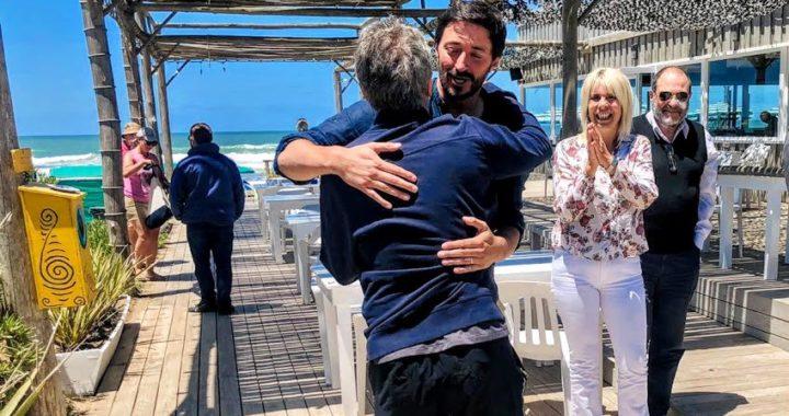 Martin Yeza y Mauricio Macri se reunieron en Pinamar en el comienzo del fin de semana largo
