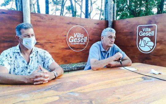 """En Gesell el toque de queda arranca hoy Gustavo Barrera dijo """"Tenemos que garantizarle el cuidado a los turistas"""""""