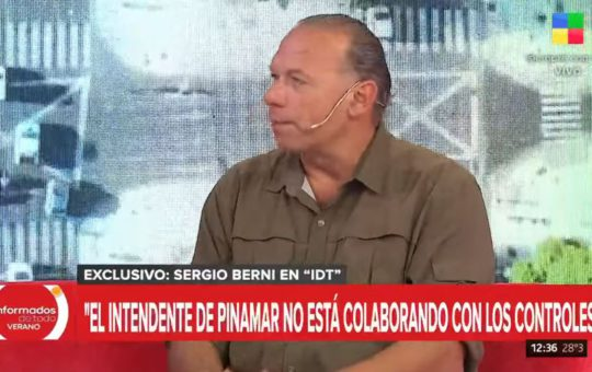 Sergio Berni, Yeza no colabora con los controles, hay intereses cruzados entre funcionarios y dueños de boliches, vamos a retirar a la policía