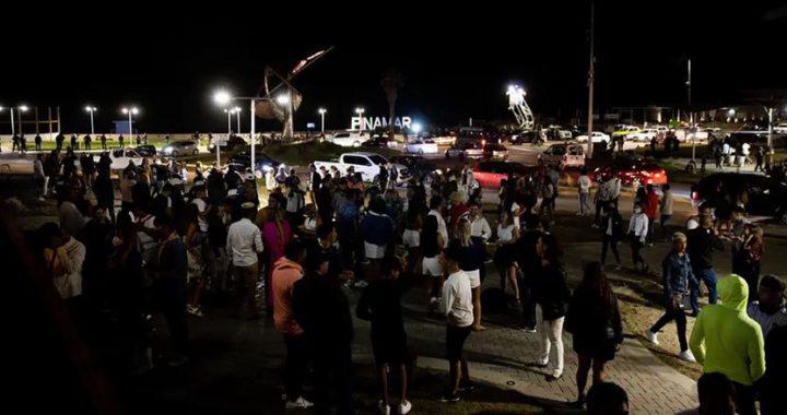 Fin de año en Pinamar, desactivaron varias fiestas clandestinas y clausuraron un balneario
