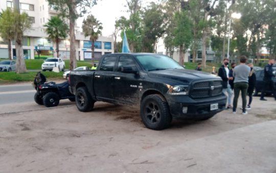 22 detenidos y 7 camionetas secuestradas en una fiesta clandestina en el norte de Pinamar