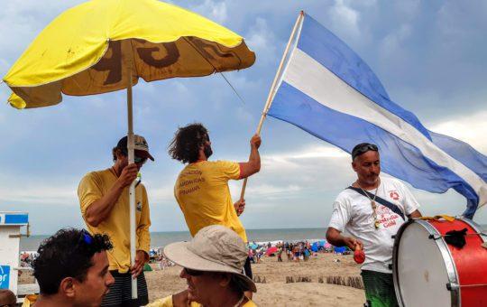 """Conflicto de guardavidas, Maria Laura Viotti """"En Pinamar pagamos el básico más alto de la costa"""""""