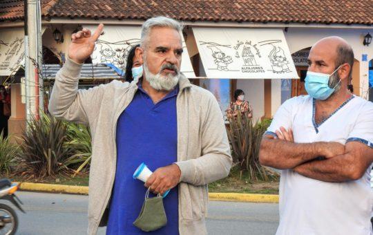 Personal de salud volvió a manifestarse este sábado en Bunge y Libertador