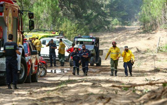 Incendios en la reserva de Cariló el municipio informó que fueron intencionales