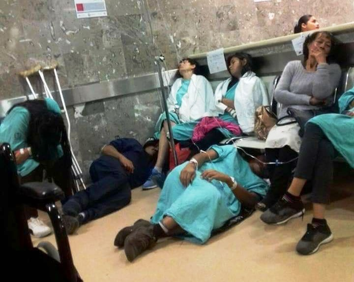 Pinamardiario en Paraguay : Coronavirus,colapsó el sistema sanitario y hay gente muriendo en los pasillos de los hospitales
