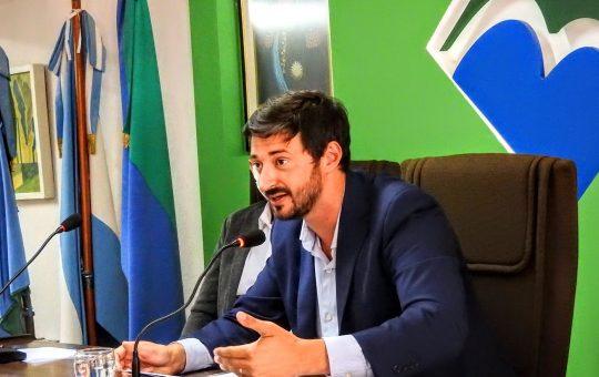 """Inicio de sesiones en el HCD, Martin Yeza """"Hicimos obras pluviales pero no alcanzaron"""""""