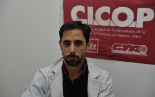 """Pablo Maciel médico y Pte. de CICOP con Pinamardiario """"Si no cerramos colapsamos y eso es una catástrofe"""""""