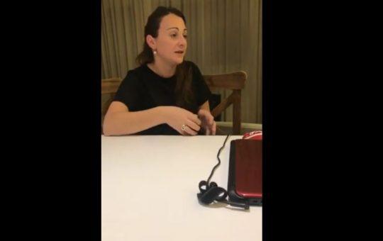 Hablo Cecilia Pecarrere una de las mujeres detenidas por las tarjetas alimentar que recupero la libertad