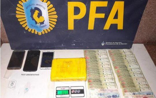 Una mujer desapareció en Mar del Plata y la encontraron en Pinamar con casi un kilo de cocaína
