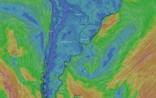 El servicio meteorológico emitió un alerta por temperaturas de hasta 5 grados bajo cero para la zona