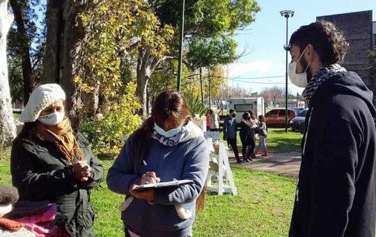 Valeria Medina, en Madariaga juntan firmas por la instalación de un crematorio, temen contaminación de barrios cercanos