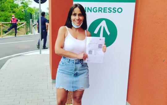 Mariana Clausi Pinamarenses en Italia, así viven el comienzo del fin de la pandemia en Europa