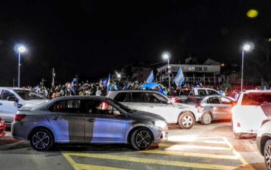 Argentina Campeón, Pinamar celebró, mira aca 20 imágenes del festejo en Bunge y Libertador