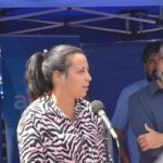 En Gesell la titular de ANSES Gabriela Carignano, encabeza la lista del Frente de Todos