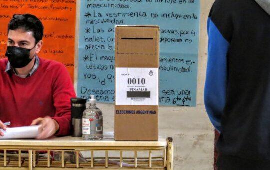 Pinamar tuvo la participación mas baja de la region en porcentaje de votantes