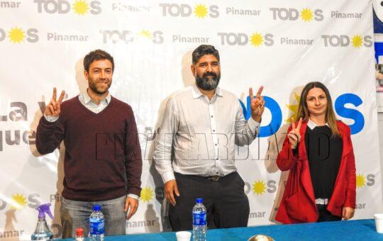 Estanga, Besteiro y Porretti le pusieron un sello a la unidad rumbo a noviembre