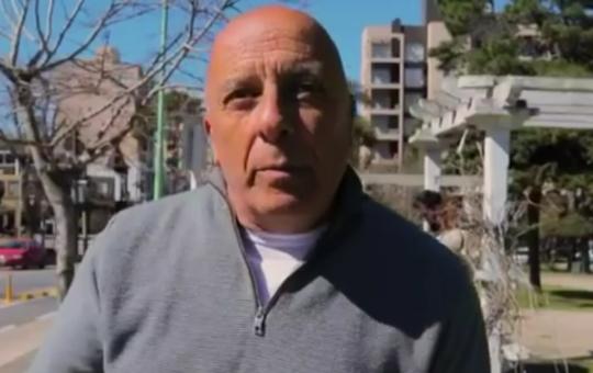 Esteban Grassano dijo que en la calle se esta gestando un voto castigo de los vecinos contra Yeza