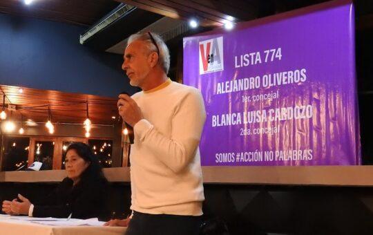 Elecciones 2021: Alejandro Oliveros, la de Meliá es una lista colectora de Yeza